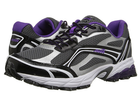 Avia - Avi-Pulse (Steel Grey/Black/Blast Purple) Women's Shoes