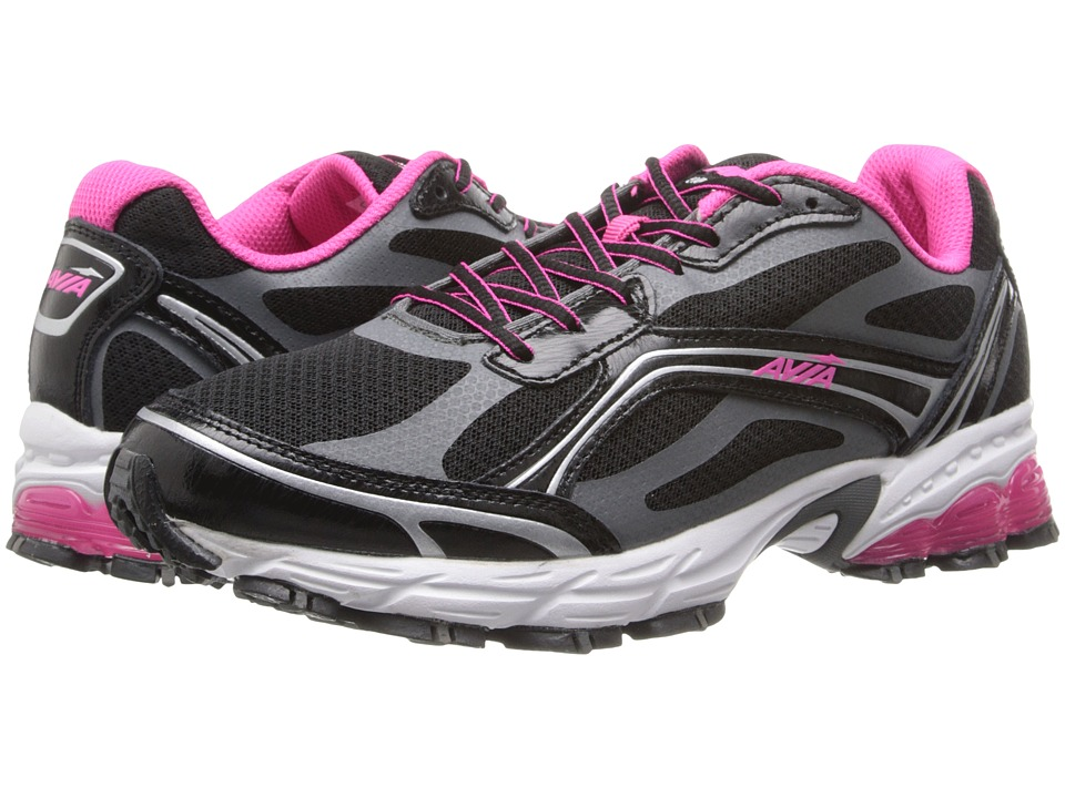 Avia - Avi-Pulse (Black/Iron Grey/Athena Pink) Women's Shoes