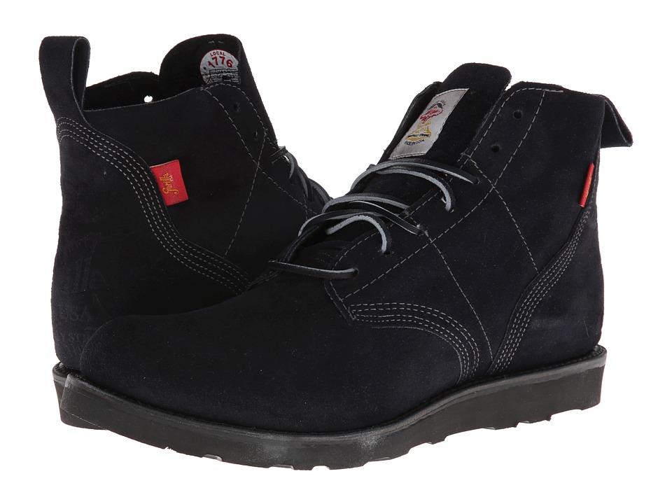 Gorilla - Gorilla Chukka (Navy Suede) Men's Boots