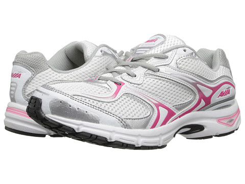 Avia - Avi-Endeavor (White/Chrome Silver/Zuma Pink) Women