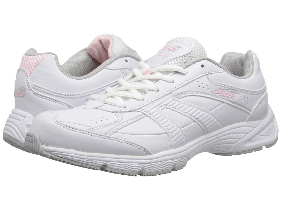 Avia Avi-Strike (White/Baby Doll Pink/Vapor Grey) Women