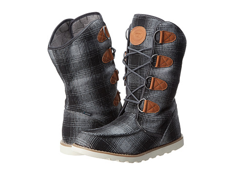 Hi-Tec - Thomas Boot 200 I (Coal Grey/Check) Women