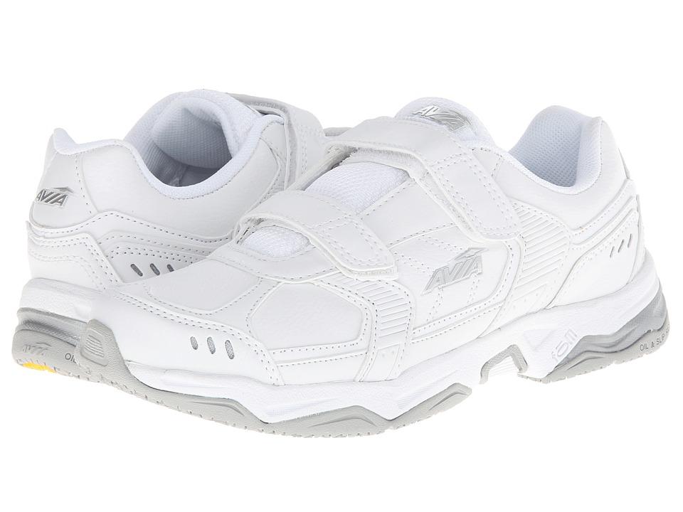 Avia - Avi-Union Strap (White/Chrome Silver) Women's Shoes