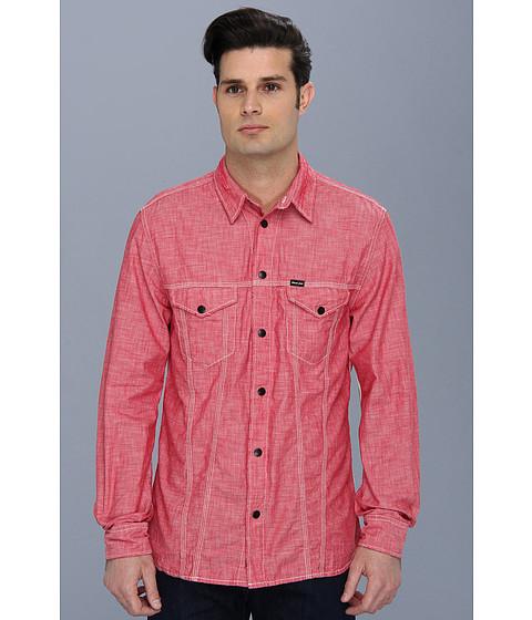Diesel - Stulip Shirt (Crimson) Men's Long Sleeve Button Up