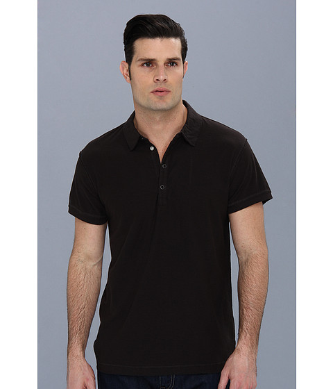 Diesel - T-Adelita Polo (Black) Men's Short Sleeve Pullover