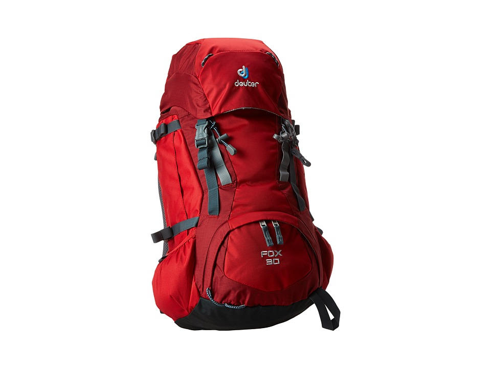 Deuter - Fox 30 (Youth) (Fire/Cranberry) Backpack Bags