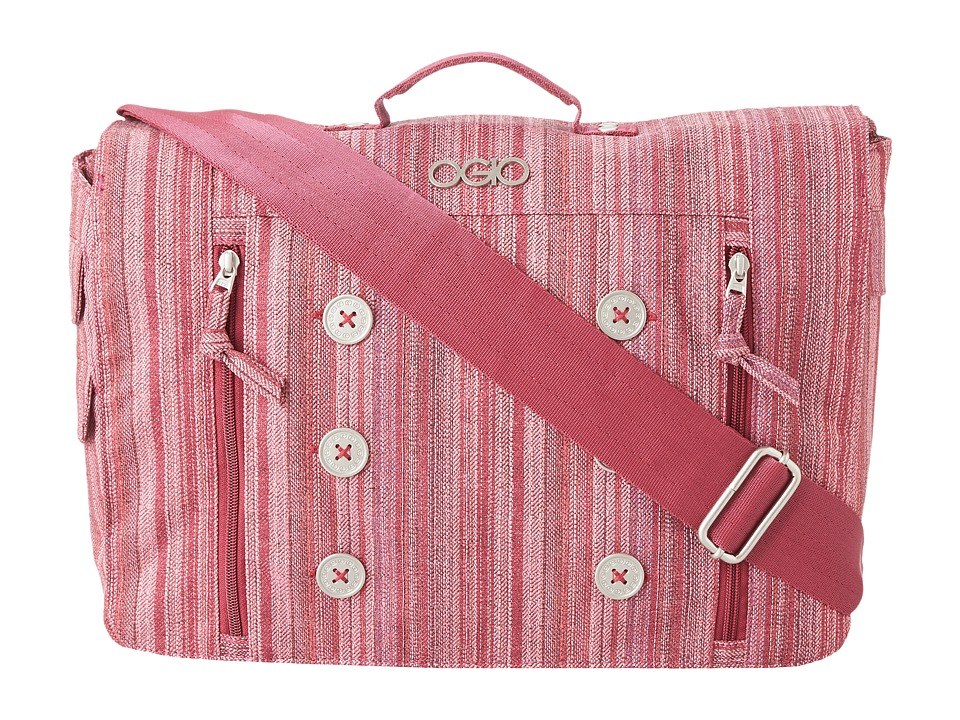 OGIO - Midtown Messenger (Raspberry) Messenger Bags