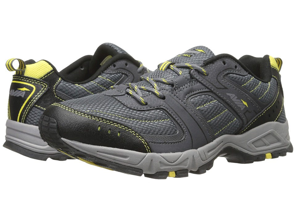 Image of Avia - Avi-Dell A5033M (Dusk Grey/Steel Grey/Blazing Yellow) Men's Shoes