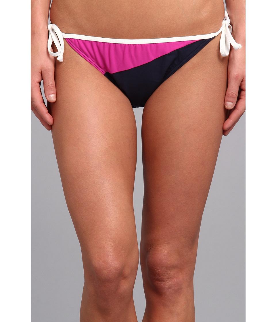 Nautica - Na77 Bow Line Tie Side Pant NA77304 (Navy) Women's Swimwear