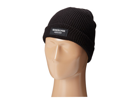 Quiksilver - Bento Jr Beanie (Big Kids) (Black) Beanies
