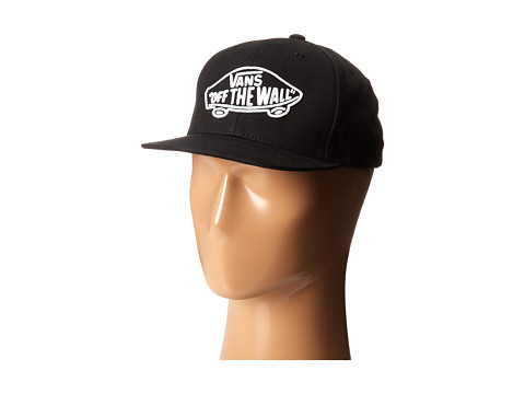 Vans - Home Team Snapback (Big Kids) (Black/White) Baseball Caps