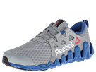 Reebok Zigtech Big Fast (Flat Grey/Impact Blue/White/Black) Men's Running Shoes