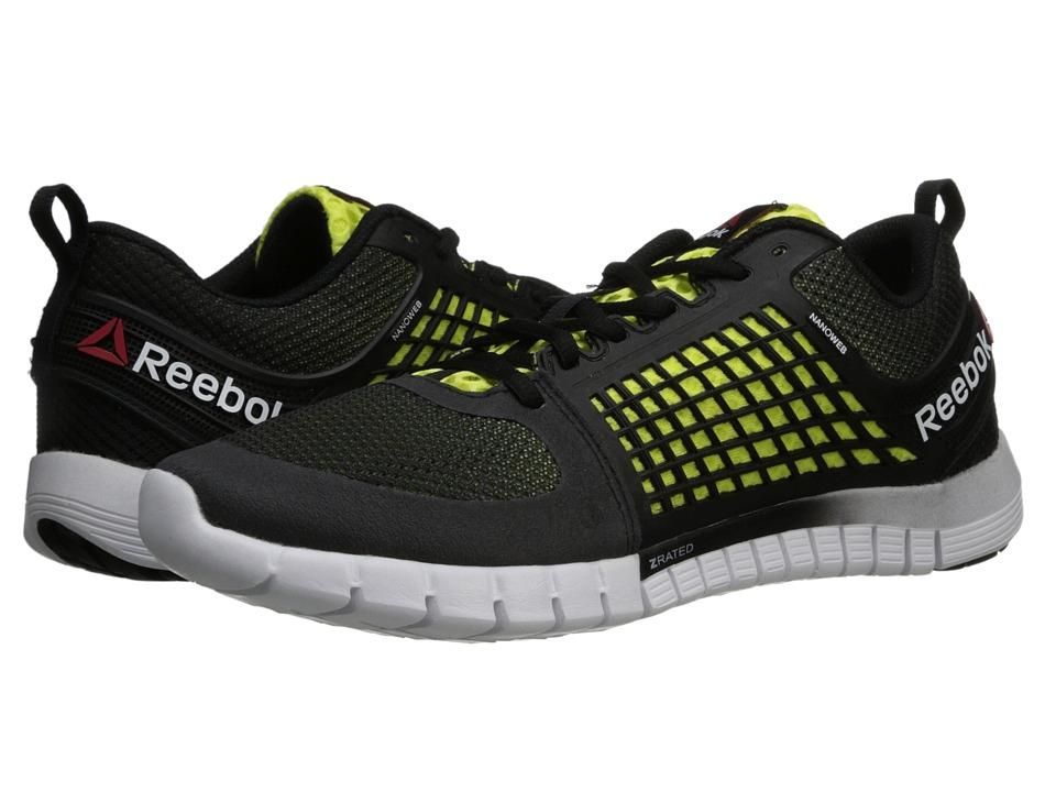 Reebok - Reebok Z Quick (Flat Grey/Gravel/High Vis Green/White) Men