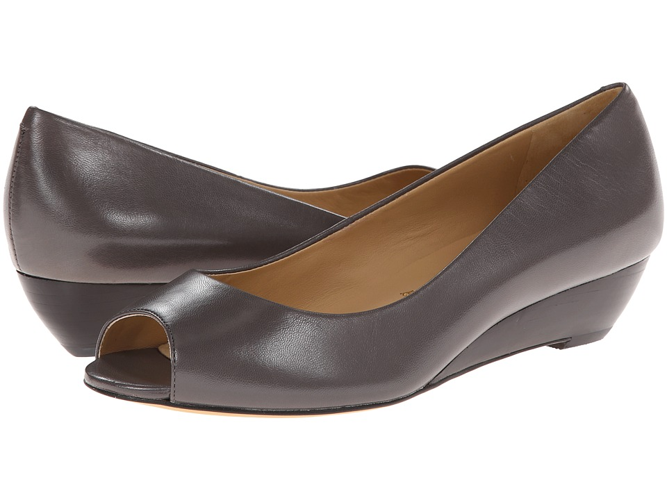 Trotters - Lonnie (Dark Grey Glazed Kid Leather) Women