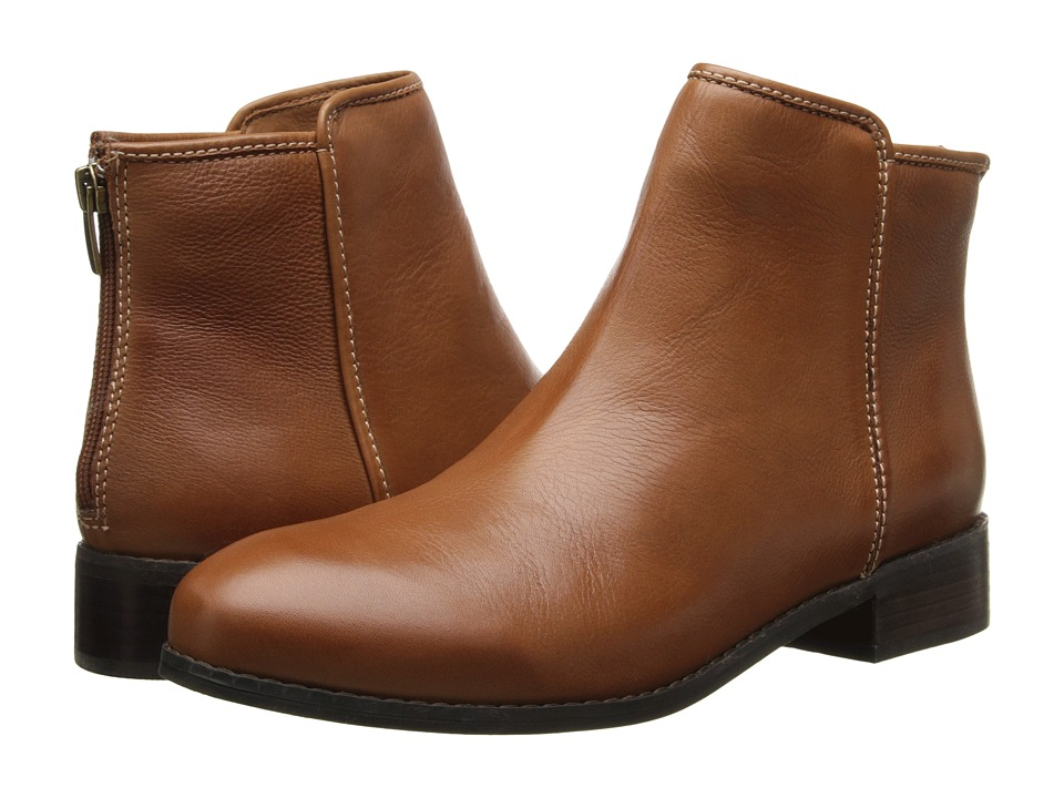 Trotters - Ladue (Cognac Veg Tumbled Leather) Women