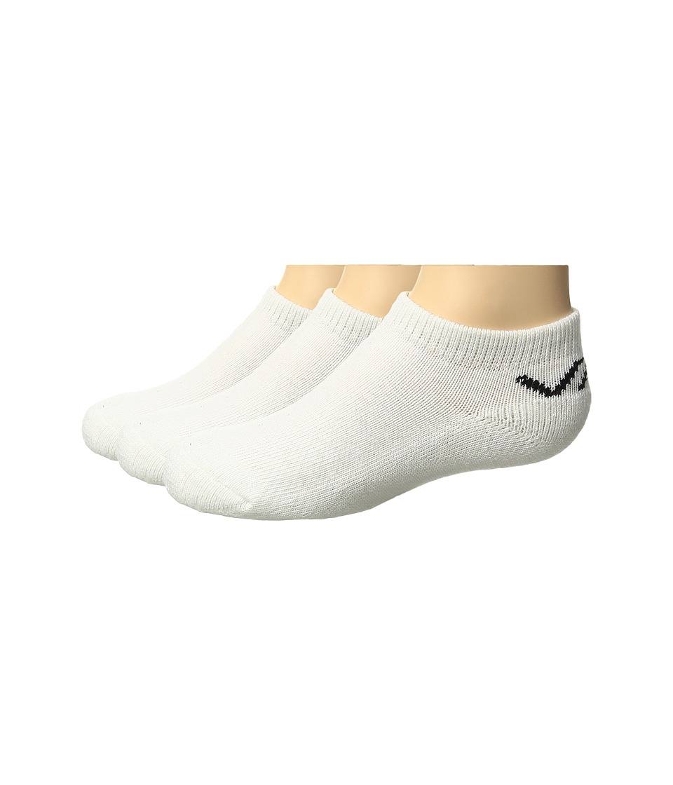 Vans - Classic Low 3-Pair Pack (Toddler/Little Kid/Big Kid) (White) Men's Low Cut Socks Shoes