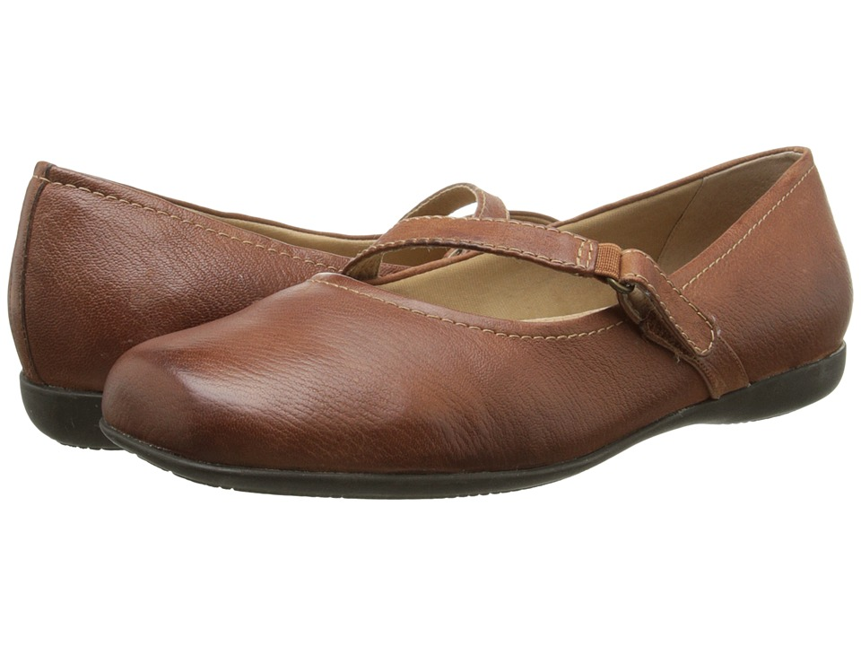 Trotters - Simmy (Rust Veg Tumbled Leather) Women