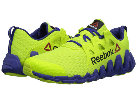 Reebok - Zigtech Big Fast (Solar Yellow/Ultima Purple) Women's Shoes