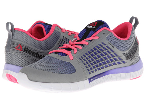 Reebok - Z Quick (Flat Grey/Ultima Purple/Purple Shadow/White) Women's Shoes
