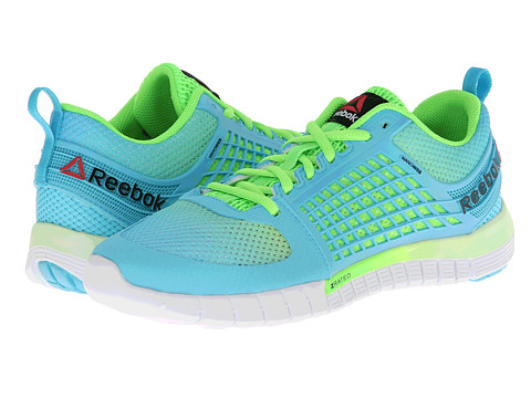 Reebok - Z Quick (Neon Blue/Solar Green/White) Women's Shoes