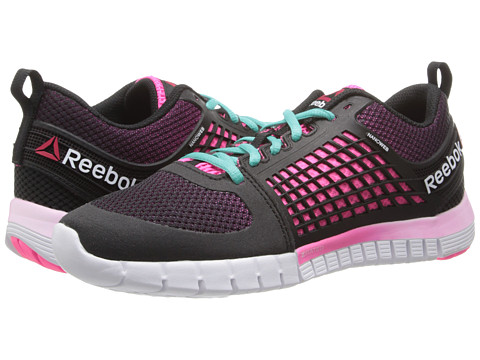 Reebok - Z Quick (Gravel/Black/Electro Pink/White/Timeless Teal) Women