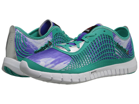 Reebok - Z Goddess Glitch (Ultima Purple/Timeless Teal/White/Matte Silver) Women