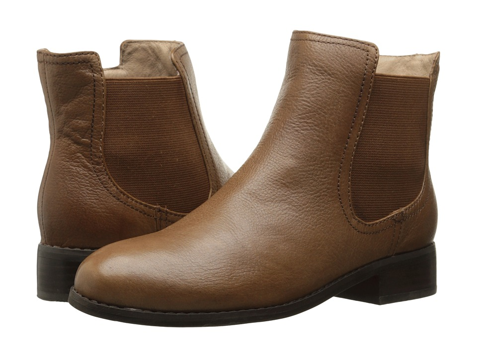 Trotters - Leah (Cognac Veg Tumbled Leather) Women