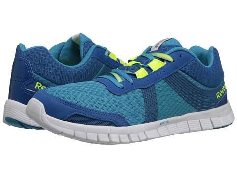 Reebok - Z Fury Tempo (Flight Blue/Persian Blue/Solar Yellow/Flat Grey/White) Women's Shoes