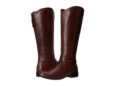 Trotters - Logan Too (Burgundy Calf Leather) Women's Boots