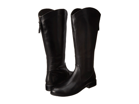 Trotters - Logan Too (Black Calf Leather) Women's Boots