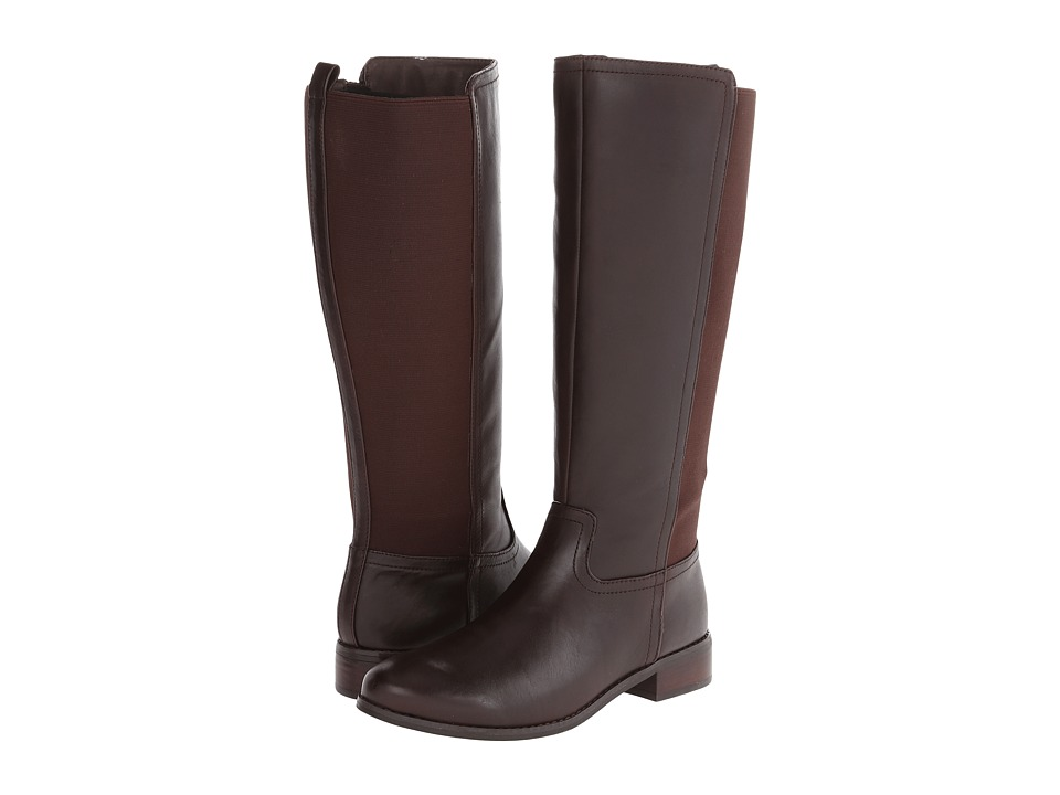 Trotters - Lucia (Dark Brown Calf Leather) Women's Boots