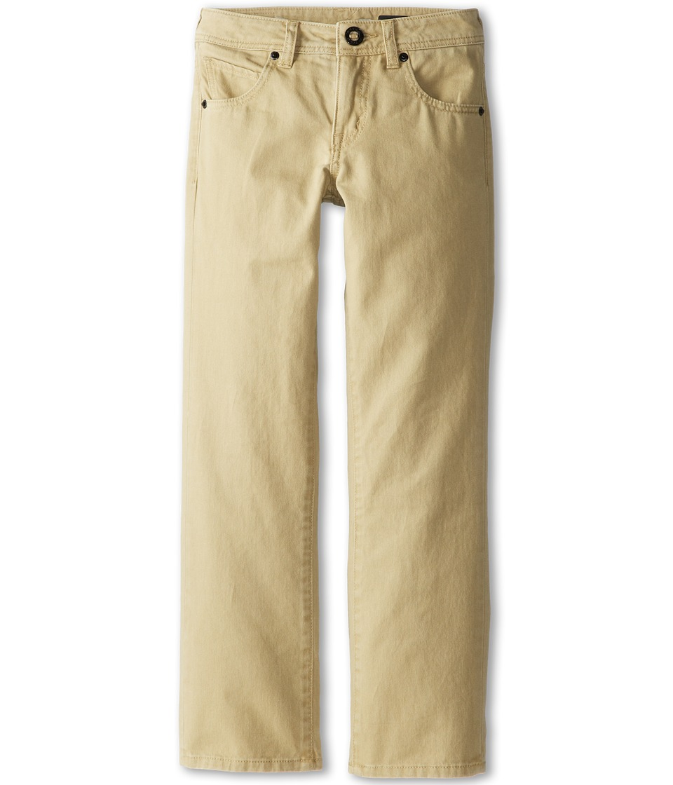 Volcom Kids - Vorta Twill Pant (Big Kids) (Drill Khaki) Boy's Casual Pants