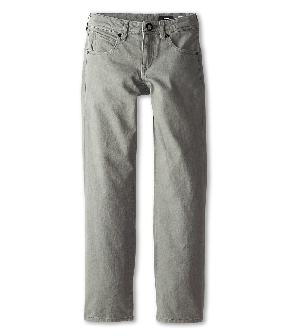 Volcom Kids - Vorta Twill Pant (Big Kids) (Slate Grey) Boy's Casual Pants