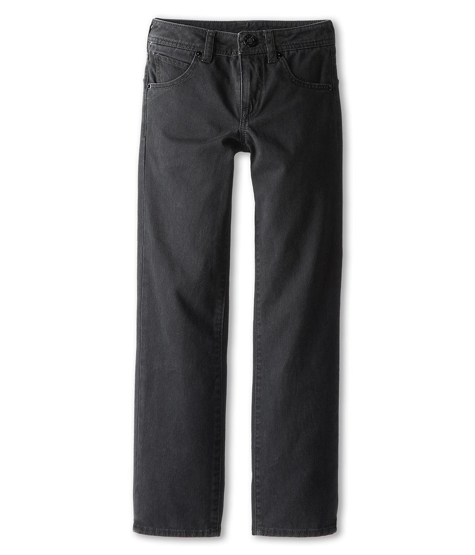 Volcom Kids - Vorta Twill Pant (Big Kids) (Black) Boy's Casual Pants