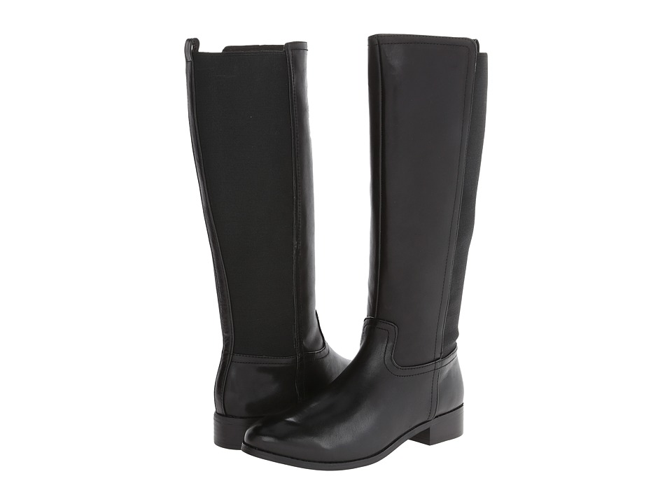 Trotters - Lucia Too (Black Calf Leather) Women's Boots