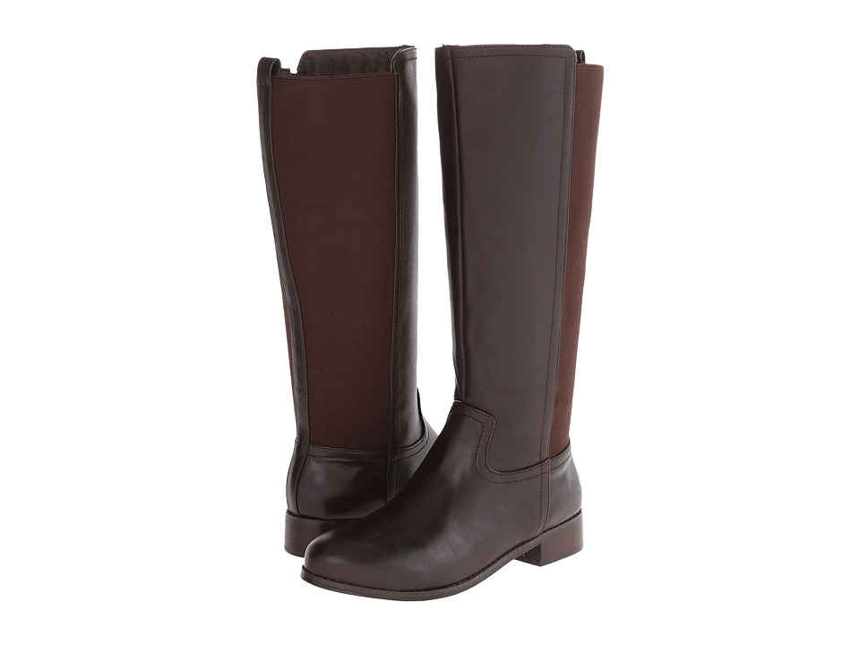 Trotters - Lucia Too (Dark Brown Calf Leather) Women's Boots