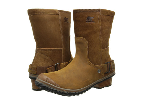 SOREL - Slimshortie (Elk/Grizzly Bear) Women's Boots