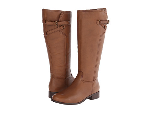 Trotters - Lucky Too (Cognac Veg Tumbled Leather) Women's Boots