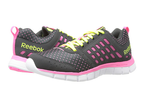 Reebok - Reebok Z Dual Ride DNS (Gravel/Electro Pink/Solar Yellow/White) Women's Shoes