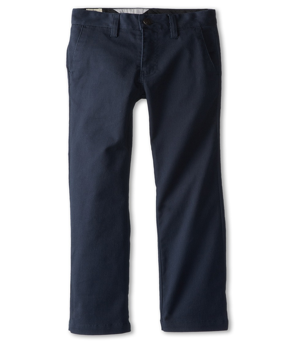 Volcom Kids - Frickin Modern Stretch Chino Pant (Big Kids) (Dark Navy) Boy's Casual Pants