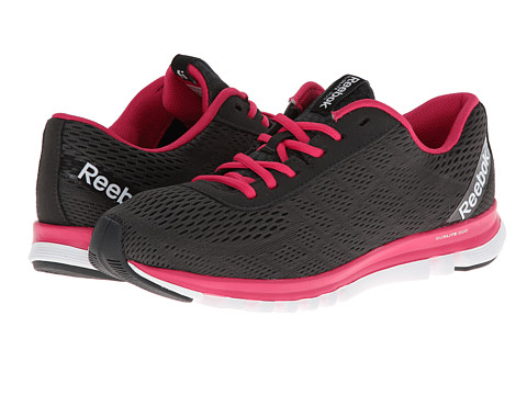Reebok - Reebok Sublite Duo Smooth (Gravel/Pink Fusion) Women's Shoes