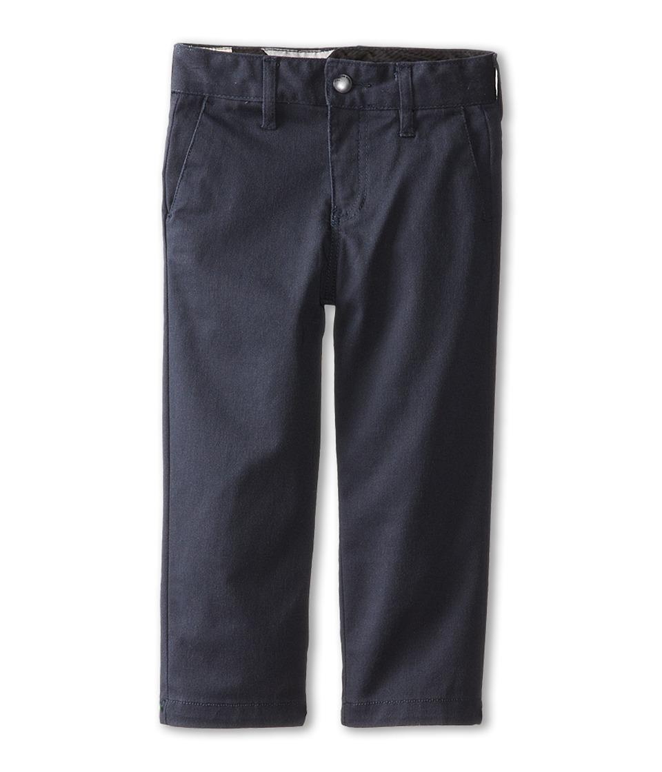 Volcom Kids - Frickin Modern Stretch Chino Pant (Toddler/Little Kids) (Dark Navy) Boy's Casual Pants