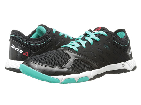 Reebok - One Trainer 2.0 (Black/Timeless Teal/White) Women