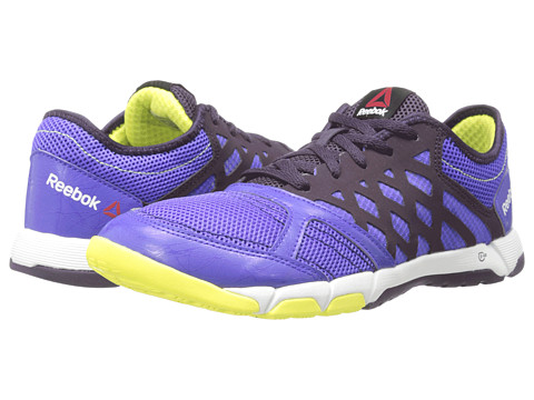Reebok - One Trainer 2.0 (Ultima Purple/Portrait Purple/High Vis Green/White) Women's Shoes