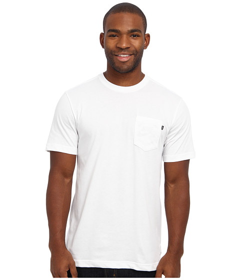 Nike SB - SB Dri-FIT Skate Pocket Tee (White/White/White/Black) Men's T Shirt