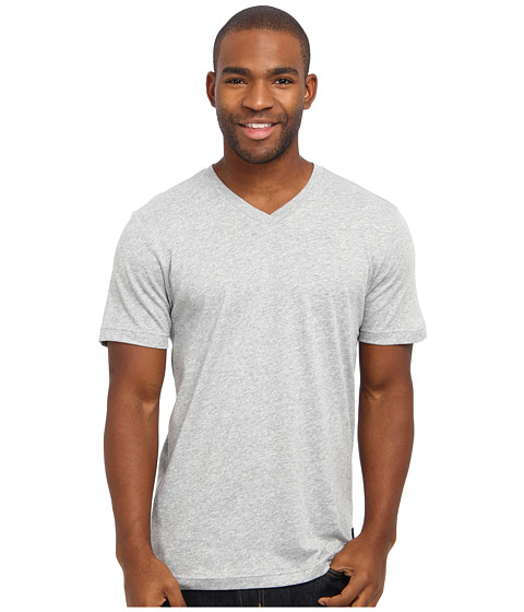 Nike SB - SB Dri-FIT Solid V-Neck Tee (Dark Grey Heather/Dark Grey Heather) Men