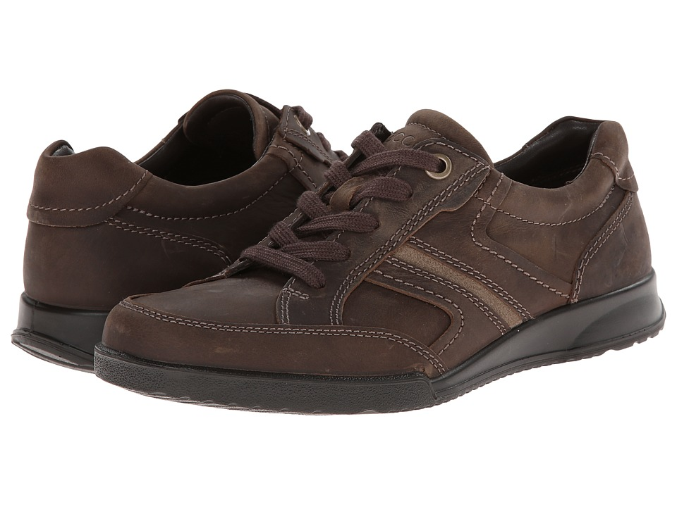 ECCO - Transporter Casual Tie (Birch/Navajo Brown) Men's Lace up casual Shoes