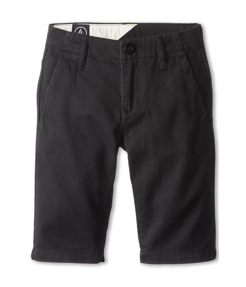 Volcom Kids - Faceted Short (Big Kids) (Black) Boy's Shorts