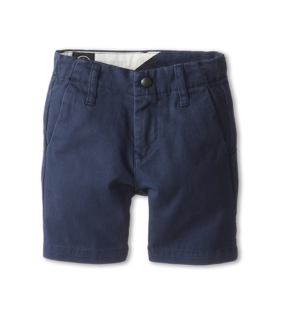Volcom Kids - Faceted Short (Toddler/Little Kids) (Vintage Navy) Boy