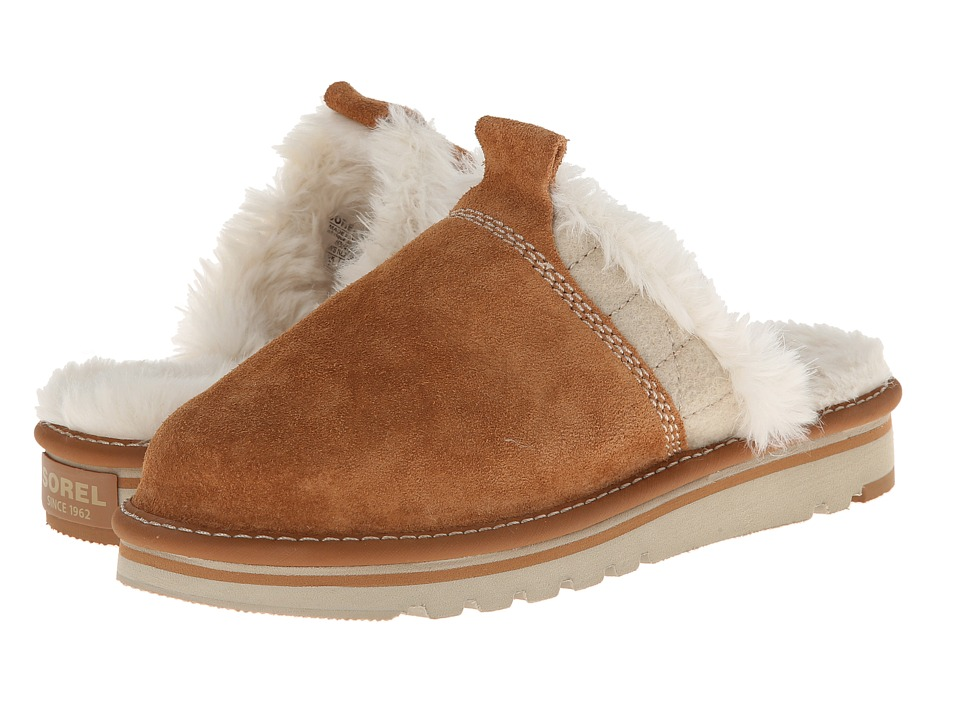 SOREL - The Newbie Slipper (Elk) Women's Shoes